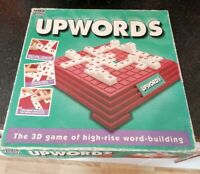UPWORDS THE 3D WORD BUILDING BOARD GAME PARKER 1994 COMPLETE NICE PARKER VINTAGE