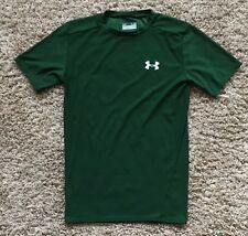 Under Armour Heat Gear Compression Shirt  - Green Men's Large