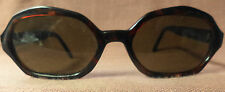 A.J. Morgan  Sunglasses, Tortiose Cats Eye Frames,  Oval Lenses, Hong Kong, NOS