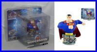 SUPERMAN Justice League BUST RESIN 10cm Original Monogram DC COMICS New