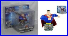 SUPERMAN Justice League BUSTO IN RESINA 10cm Originale Monogram DC COMICS Nuovo