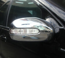 Mercedes Benz Clase E 4 Puertas Saloon W211 Nuevo Chrome Puerta Espejo Moldura 2002 - 2006