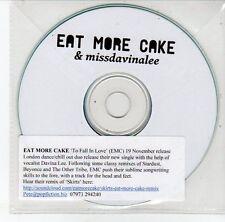 (EG969) Eat More Cake & Missdavinalee, To Fall In Love - DJ CD