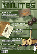 MILITES n24 - rivista militaria magazine Wehrmacht Tagliamento Croce Rossa WW2