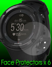 Suunto Ambit 2 & Ambit 2 S watch face protectors x 6 protect your watch face