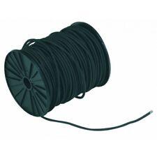 cordon elastique rond ø 4 mm NOIR au mètre