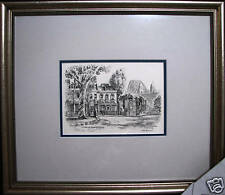 Cedric Emanuel print 'Historical Heart of Sydney' Australia