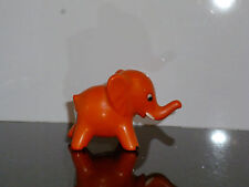 Sammelfigur  Göbel alte Figur  Elefant orange, Tier