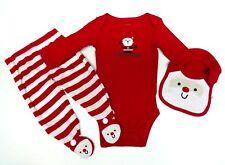 Carter's 3 piezas salva talla 44 Baby traje navidad body pantalones Iarguirucho chico