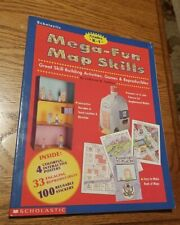 Scholastic K-1 Mega-Fun Map Skills: Great Skill-Building Activites & Games