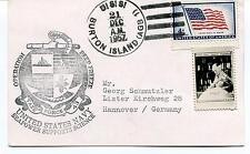 1957 USS Burton Island Deep Freeze Seapower Support Polar Antarctic Cover