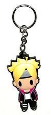 Naruto the Movie Rubber Keychain Key Chain Holder Naruto Uzumaki (D4 Boruto)