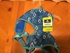 "Top Paw Comfort Harness for Dogs - Size Large - Girth 28"" - 34""  Blue"