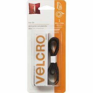 Brand Iron - On Tape 3/4 inch x 24 inch - Black - Velcro(r) Brand Fasteners