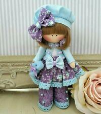 Rag doll handmade Mothers day gift Tilda doll Ooak doll GINA 6 inch tall