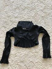 Black Bolero Jacket Size 38
