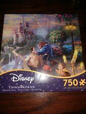 Thomas Kinkade Disney's Beauty And The Beast 750 Piece Puzzle