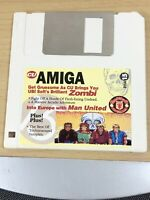 CU Amiga Magazine Cover Disk 15 Zombi Man United TESTED WORKING