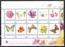 3013 Nederland Ouderenfonds 2016 Map met 4 velletjes van 10 Janneke Brinkman