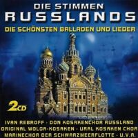 DIE STIMMEN RUSSLANDS 2 CD NEUF