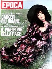 EPOCA 1074 1971 / Carlos Manzon Nino Benvenuti / Monica Vitti  [SC.36]