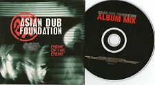 CD Pop Asian Dub Foundation - Enemy Of The Enemy (12 Song) Promo LABELS / EMI