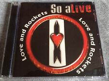 LOVE AND ROCKETS - So Alive (Live) CD  Alternative Rock / Bauhaus USA