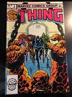 The Thing Volume 1 #3 September 1983  Marvel Comics Stan Lee