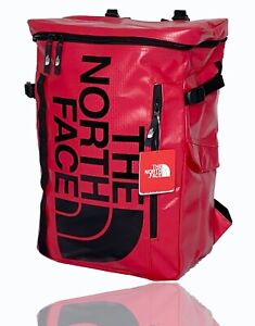 The North Face Fusebox II Backpack  - Red & Black - New - FREE SHIPPING