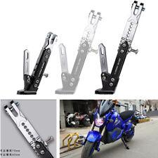 Motorrad Styling Metall Einstellbare Seitenständer Stativ Halter Fallen Schützen