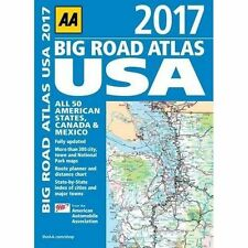 AA Big Road Atlas USA: 2017 - Paperback