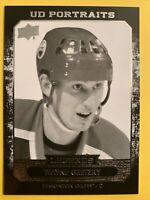 2014-15 Upper Deck SR2 UD Portraits Legend #P-41 Wayne Gretzky Edmonton Oilers