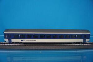 Marklin 4219 BLS Express Coach Blue-Beige 2 kl. 408-5 OVP