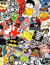 Lot of 50 Stickers for Skateboard Sticker Laptop Luggage Bike Decals mix*RANDOM*
