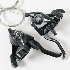 MTB Road Bike Bicycle Cycling 3 x 8 = 24 Speed Shifter Shift Brake Levers Set