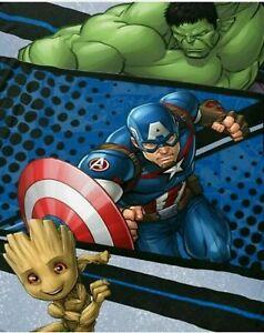 Marvel Avengers Super Soft Plush Fleece BLANKET 62 X 90 NEW