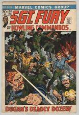 Sgt. Fury and His Howling Commandos #98 May 1972 VG
