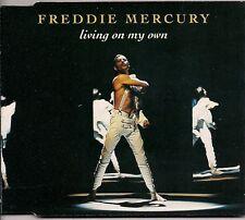 Freddie Mercury Living On My Own 4 mixes UK CD Single