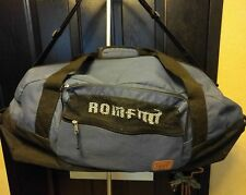 Large Rome Luggage Duffle Bag Suitcase Gym Bag Navy Carry On Sport Skateboard