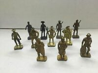 Kinder Sorpresa SET 11 Soldatini di Metallo Metal Toy Soldiers 4 cm 40mm Vintage
