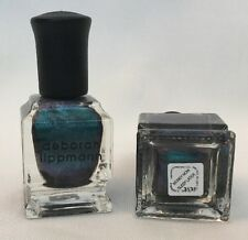 Deborah Lippmann MONEY NOW SLEEP LATER Nail Polish 2 X .27oz DUOCHROME Oil Slick