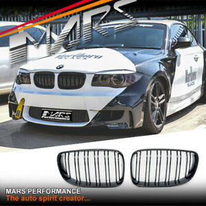 Gloss Black M2 style Bumper Grille for BMW E82 E88 Coupe Convertibe 08-13 Grill