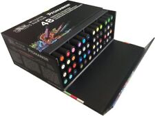 COFFRET 48  PROMARKER WINSOR&NEWTON DOUBLE POINTE  BASE ALCOOL
