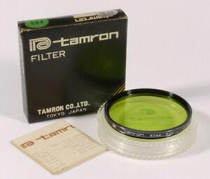 PRL) TAMRON 62 mm 62.0s P00 FILTRO GREEN FILTER FILTRU FILTRE FILTAR PHOTO VITE