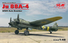 ICM 48237 WWII Axis Bomber Junkers Ju88A-4 in 1:48