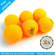 12 x Double Fish 1-Star 40mm orange Table Tennis Balls are high quality