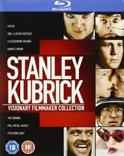 "STANLY KUBRICK VISIONARY FILMMAKER COLLECTION 8 DISC BOX SET BLU-RAY RB ""SEALED"""