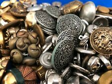 Vintage Gold / Brass / Silver Tone Buttons - 3-1/2 Pounds!  Many Matching Sets!