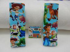 Toy Story 2 Padded Child Seat Belt Strap Covers Highchair Stroller Pram