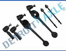 1991-2002 Saturn SC SL SW Front Lower Control Arm Pair Inner Outer Tie Rod Set